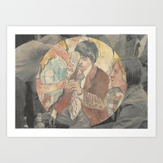 boys drinking cheap whiskey Art Print