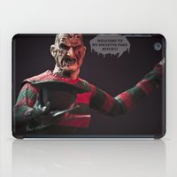 freddy krueger iPad Cases featuring Freddy Welcomes You 2 My Society6 Page... by TJAguilar Photos