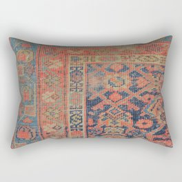 Traditional Antique Rug Rectangular Pillow