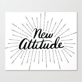 New Attitude Canvas Print