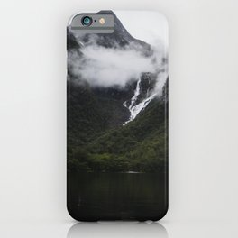 Over Ranges And Rivers It Lies iPhone Case