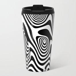 Trippy Background Travel Mug