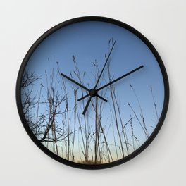 Prairie Twilight Wall Clock