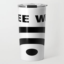 Free Wifi Travel Mug