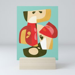 Apple Slices Mini Art Print