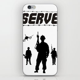 Serve iPhone Skin