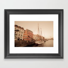 By the Nyhavn Framed Art Print
