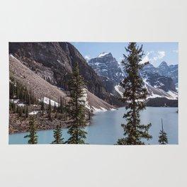 Landscape Photography Lake Moraine Canada Rug