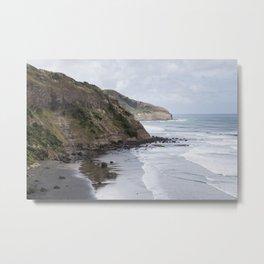 Cliffs of New Zealand Metal Print
