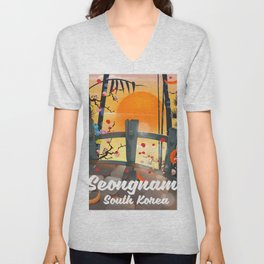 Seongnam South Korea Unisex V-Neck