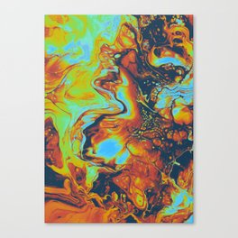 CANDLELIGHT EXCHANGES Canvas Print
