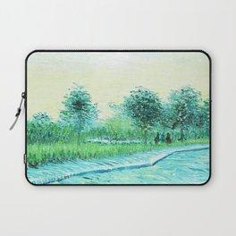 Van Gogh : Park in Asnieres Laptop Sleeve