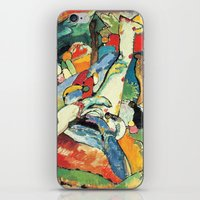 "kandinsky iPhone & iPod Skins featuring Vasily Kandinsky Sketch for ""Composition II"" by Artlala for MSF Doctors Without Borders"