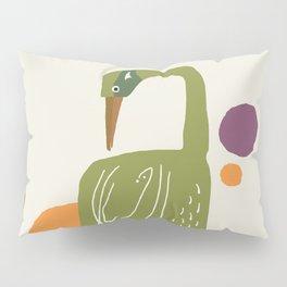 Quirky Brolga Pillow Sham