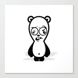 Dumb Panda Canvas Print