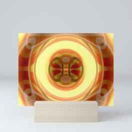 Spacetime path Mini Art Print