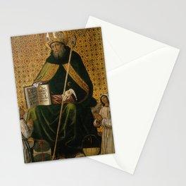 Pinturicchio - Sant'Agostino tra i flagellanti Stationery Cards
