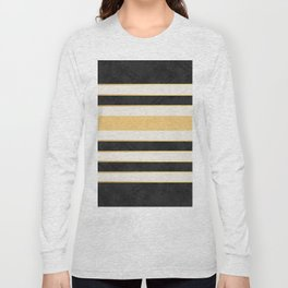 Marble stripes Long Sleeve T-shirt