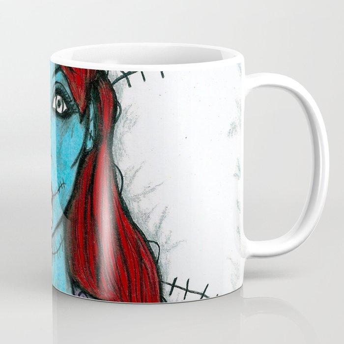Nightmare Before Christmas Coffee Mug.Sally The Nightmare Before Christmas Coffee Mug By Littleenithandsons