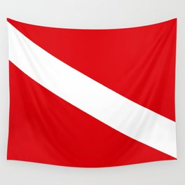Diving flag Wall Tapestry
