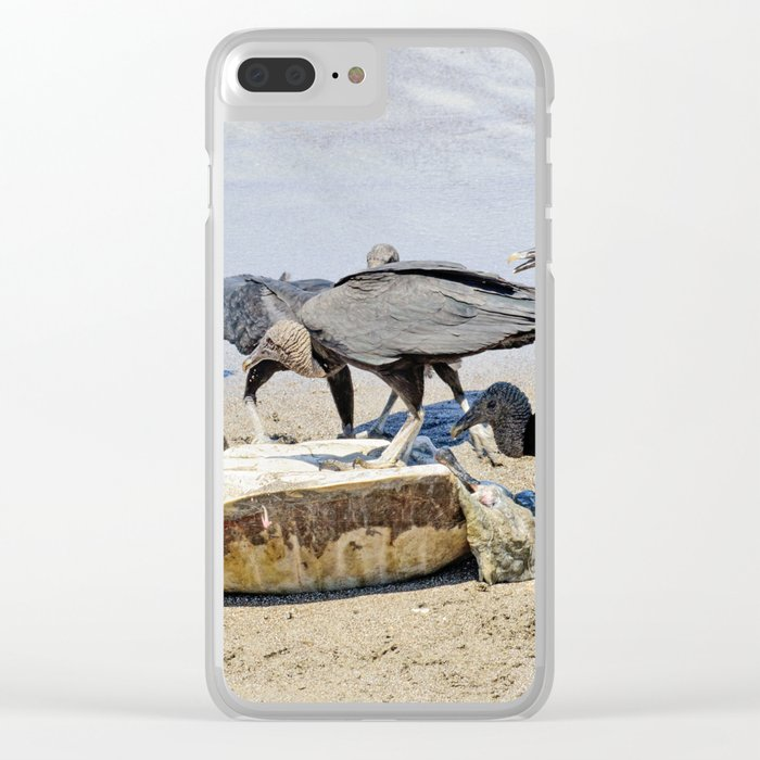 Wildlife in Action Clear iPhone Case