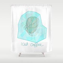 Iced coffee Shower Curtain