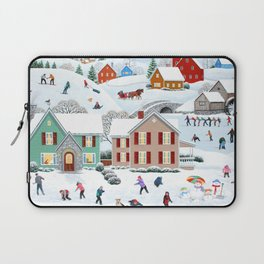 Once Upon a Winter Laptop Sleeve