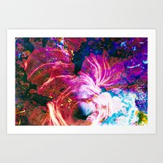 The Core Art Print