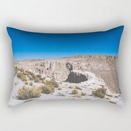 Over the Edges of the Atacama Desert, Bolivia Rectangular Pillow