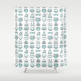 Bathing suits Shower Curtain