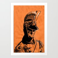 French Dragoon Art Print