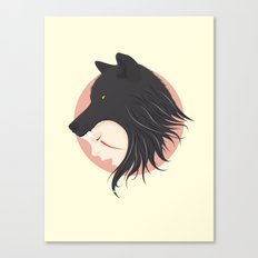 Boy Cries Wolf Canvas Print