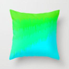 Slimed Throw Pillow