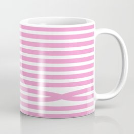 Stripes - Baby Pink Coffee Mug