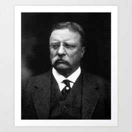 President Teddy Roosevelt Art Print