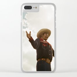 Big Tex Clear iPhone Case