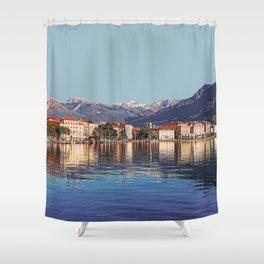 Geneva, Switzerland Travel Artwork Shower Curtain