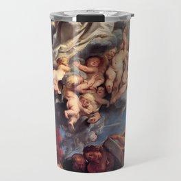 Pieter-Paul Rubens; Assumption of the Devine and Holy Virgin Mary Travel Mug