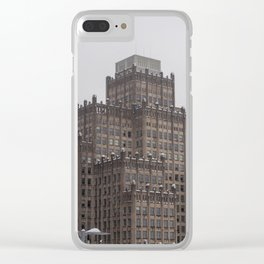 Office Building Clear iPhone Case
