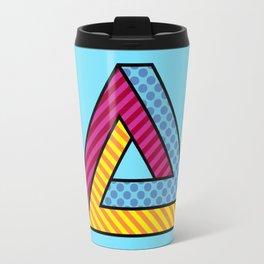 70s Abstract Penrose Travel Mug