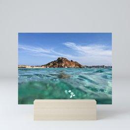 Sardinia - Tyrrhenian Sea - Island Mini Art Print