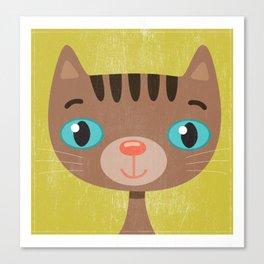 Brown Kitty Canvas Print