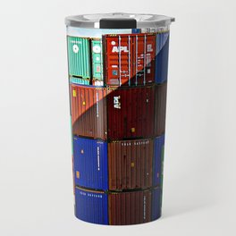 Colorful containers II Travel Mug
