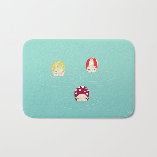 into the sea Bath Mat