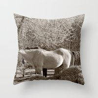 country Throw Pillows featuring Country by Christy Leigh
