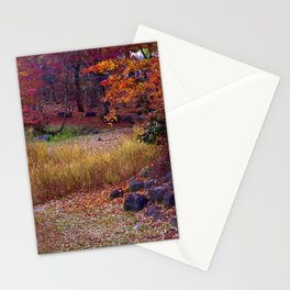 Fall Foliage in Nikko, Japan Stationery Cards