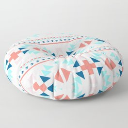 geometry navajo pattern Floor Pillow