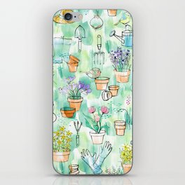 Birds in the Garden iPhone Skin