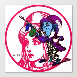 Alice&Hatter Canvas Print