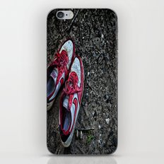 Literally Stepping Out iPhone & iPod Skin